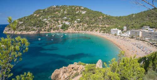 Alojarse en Ibiza en Cala San Vicente